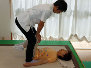 椎間板へのストレッチ