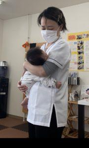 産後の骨盤調整、子連れ整体